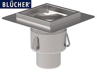 Промисловий трап Blucher 767.402.110, нержавіюча сталь, вертикальний вихід DN110