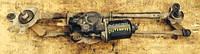 Моторчик стеклоочистителя трапеция Mitsubishi  Outlander Denso 1592007160 / 2FP3MN1265
