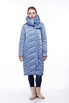 Размеры от 42 до 56 зимнее пальто Стильное для сильных морозов , фото 2