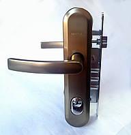 Ручка на планке Gerda TD 1000 90PZ анод платины (Польша)