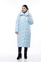 Размеры от 42 до 56 Зимнее Пальто с капюшоном для сильных морозов высокое качество!, фото 3