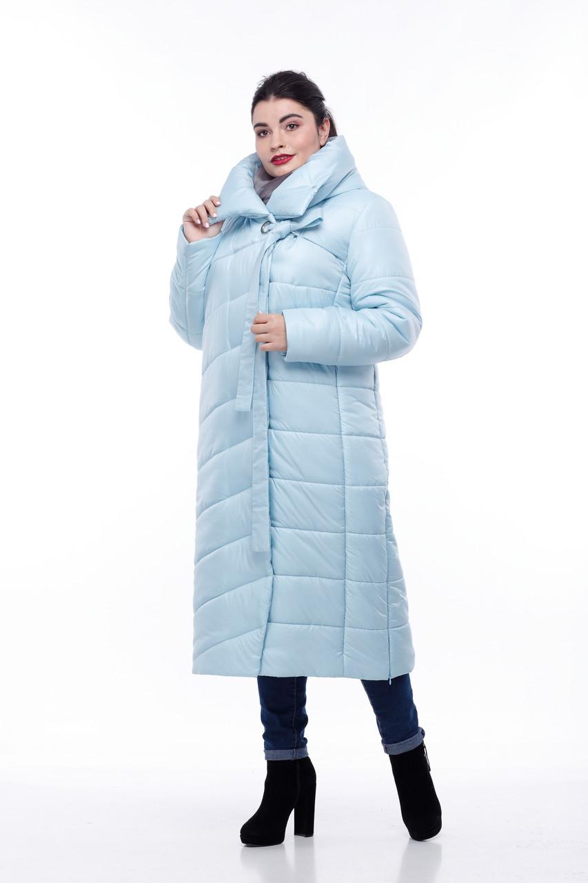 Размеры от 42 до 56 Зимнее Пальто с капюшоном для сильных морозов высокое качество!