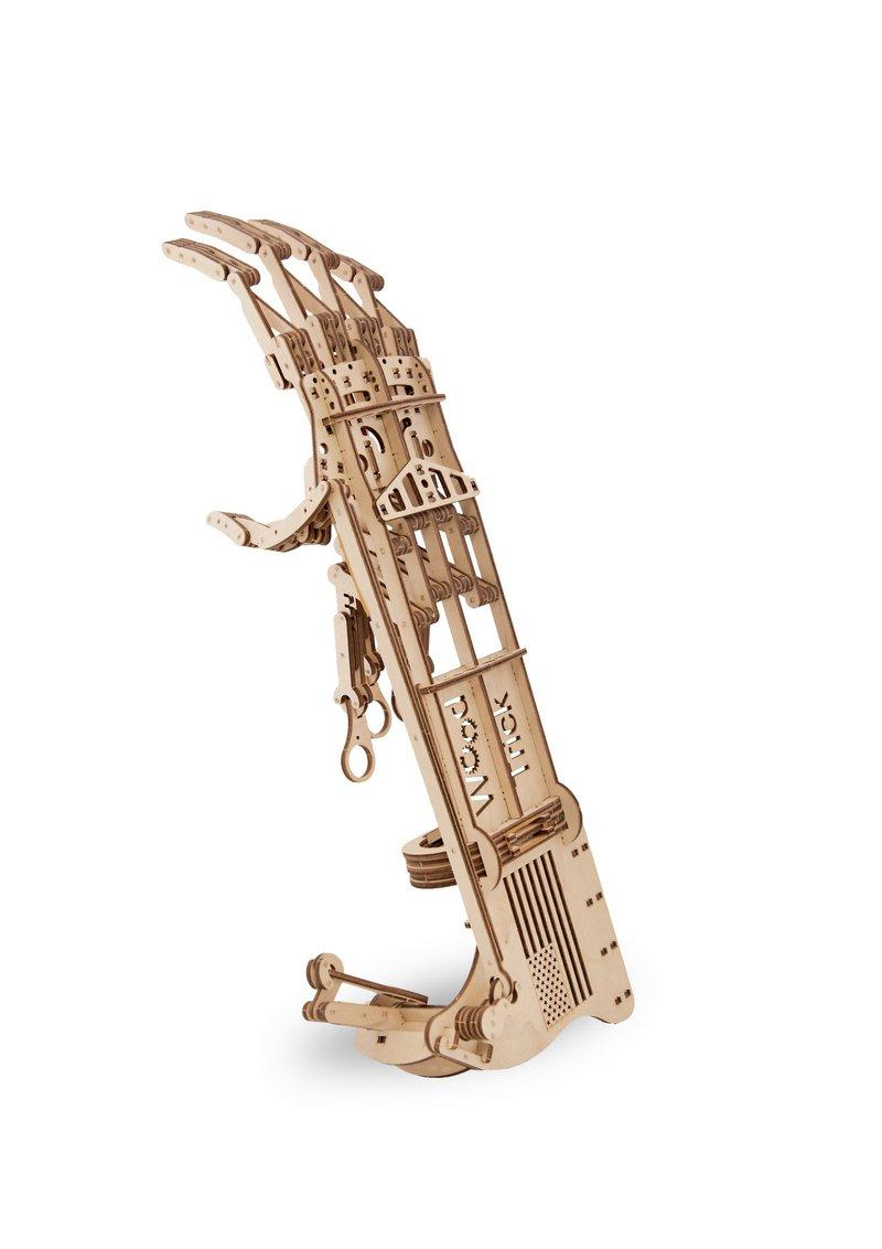 3D деревянный сборный механический конструктор Wood Trick Рука
