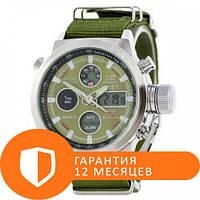 Наручные часы AMST C Silver-Green Green Wristband