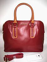 Кожаные красные сумки, фото 1