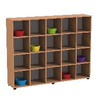 Шкаф для горшков в детский сад ( 1200*300*1500 мм)