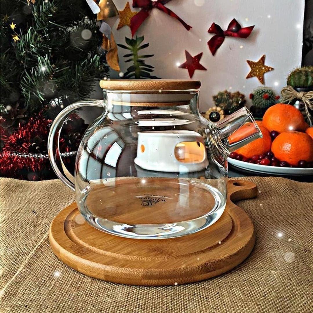 Чайник заварочный с сито-фильтром спираль Wilmax Thermo WL-888810 950 мл