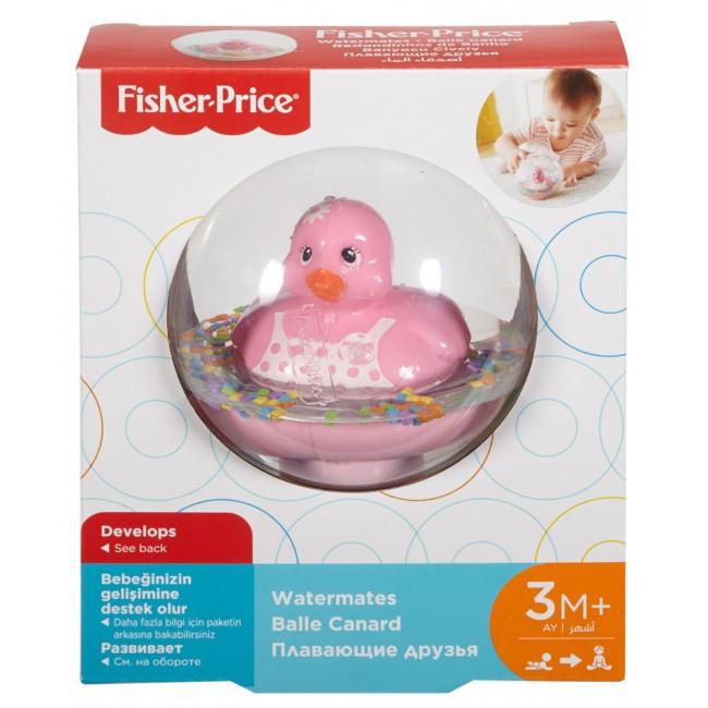 Каченя в кулі Fisher-Price рожевий DVH21