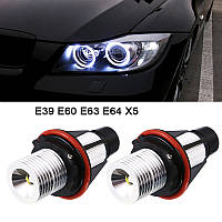Лампочки ангельські глазки BMW X5 E39 E53 E60 E63 E64 (комплект 2шт), фото 1