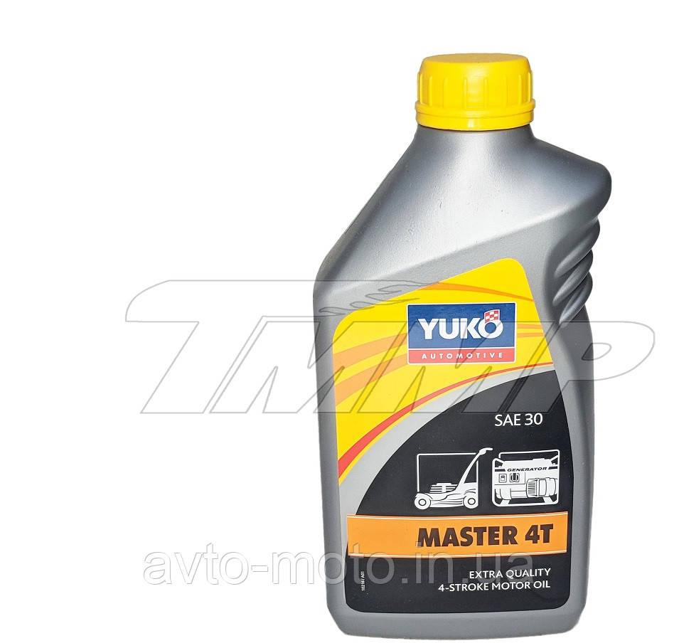 Масло 4T YUKO 1л  для бензокос, бензопил, газонокосилок