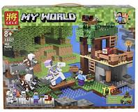 "Конструктор Lele 33227 ""Нападение армии скелетов"" (аналог Lego Майнкрафт, Minecraft 21146), 462 дет"