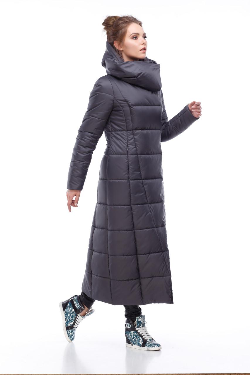 3371371a5053b Размеры от 42 до 56 зимнее стильное стеганое пальто длина 124 см ...