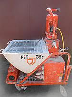 PFT G5c штукатурна станція штукатурная станция штукатурна машина
