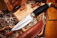 Нож Быстрорез нескладной боевой, материал рукояти дерево-латуньвес 217 г