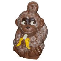 Форма для шоколада 3D — 200497А Обезьянка с бананом 110 мм, фото 1