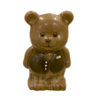 Форма для шоколада 3D — 800392 Мишка 135 мм, фото 1
