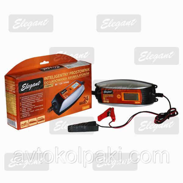 Зарядное для авто  Elegant COMPACT 6/12V/4А