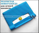 Синий силиконовый бампер TPU чехол для Lenovo Yoga Tablet 3 8 850F 850M (TAB 3-850M), фото 2