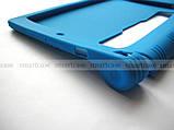 Синий силиконовый бампер TPU чехол для Lenovo Yoga Tablet 3 8 850F 850M (TAB 3-850M), фото 5