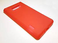 Силикон чехол бампер LG P700 / P750 / L7 красный