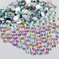 Стразы Crystal AB ss12(3,2мм).Цена за 100шт.