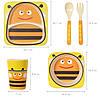 """Детский набор эко-посуды из бамбукового волокна """"Пчелка"""", фото 8"""