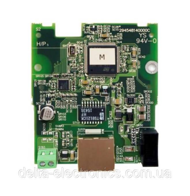 Опциональная плата связи CMM-EIP01 Modbus TCP / EtherNet IP для преобразователей частоты серии MS300