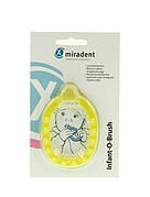 Зубна щітка для малят Infant-O-Brash Miradent (жовта)