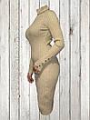 Женское платье-туника Золотистого цвета, фото 2