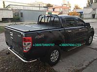 Складная крышка багажника для пикапа BVV. Алюминиевая крышка багажника кузова пикапа. Тюнинг пикапов