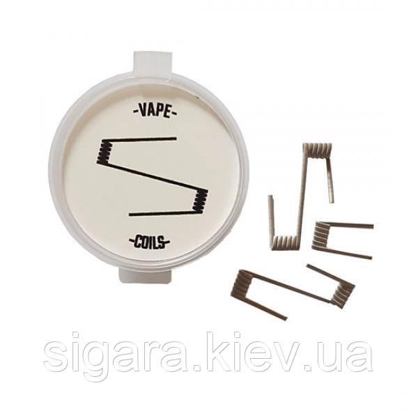 Спираль Tripple Fused Clapton 3*0.3SS316 ID 3 5.5 витков 0.24 Ом (6,6 мм)