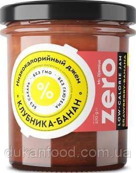 Низкокалорийный ДЖЕМ  КЛУБНИКА - БАНАН Mr. Djemius Zero