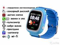 ОригинальныемДетские часы-телефон Smart Baby Watch Q90 телефон,микрофон