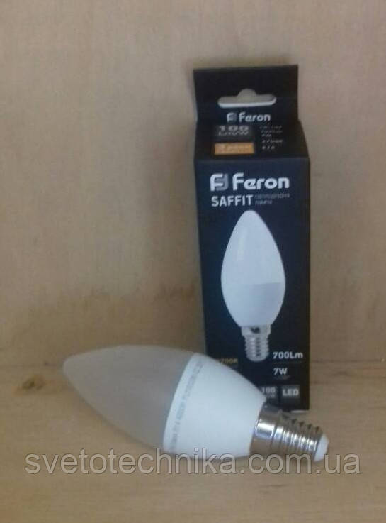 Светодиодная лампа Feron LB197 E14 7W 2700К