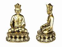 Статуя. Бронза. Кармапа II Карма Пакши (21х14х11 см)
