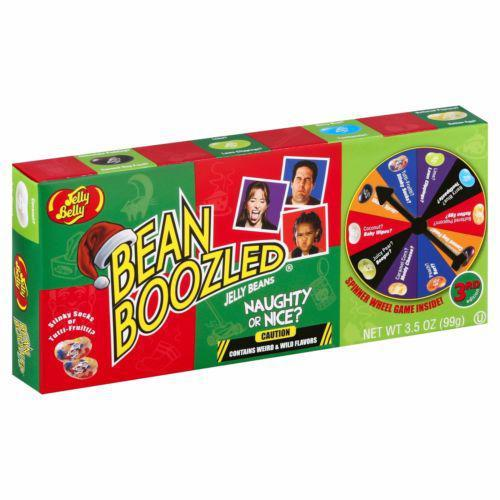 Желейные бобы Jelly Belly Beanboozled Christmas Game