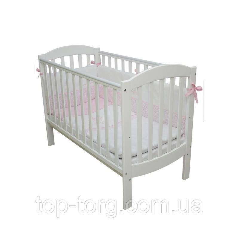 """Ліжко дитяче """"Соня ЛД10"""" білий, Veres"""