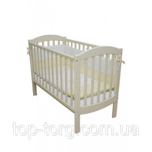 """Ліжко дитяче """"Соня ЛД10"""" слонова кістка, Veres"""