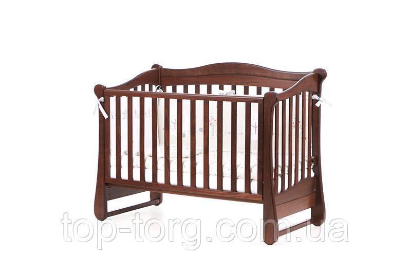 """Ліжко дитяче """"Соня ЛД18"""" горіх, Veres"""