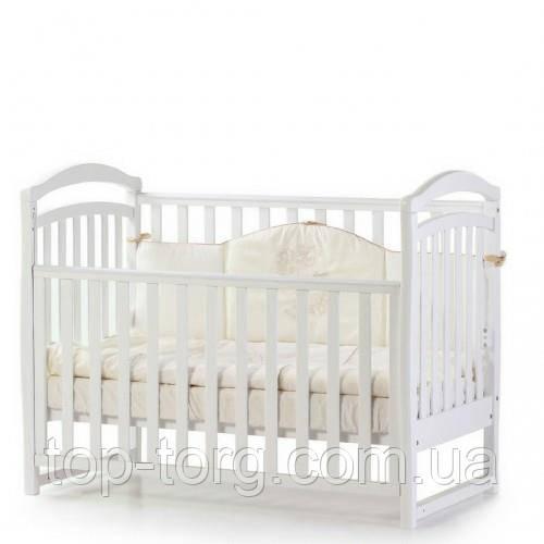"Кроватка детская ""Соня ЛД6"" белая, белый, Veres"