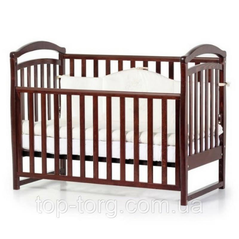 """Ліжко дитяче """"Соня ЛД6"""" горіх, Veres"""