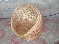 Плетеная корзина лозы для зверей