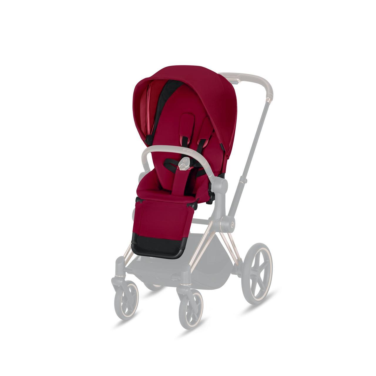 Cybex - Комплект ткани для Priam Lux Seat, цвет True Red