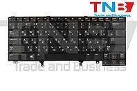 Клавиатура Dell Latitude E6430 Черная без трекпоинта с подсветкой