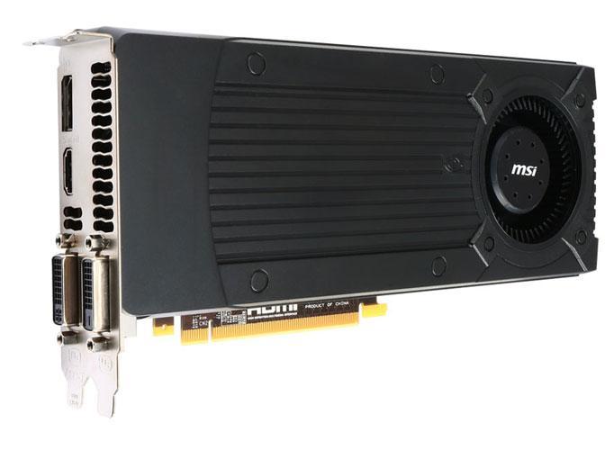 "Видеокарта MSI N760-2GD5/OC GeForce GTX 760 2048Mb GDDR5 256bit ""Over-Stock"" Б/У"