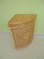 Плетеная корзина для белья Угловая №2 с высотой 55см