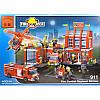 """Конструктор """"Пожарная охрана"""" Brick 911 980 деталей, фото 2"""