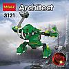 """Конструктор """"Зеленый дракон"""" Decool 8в1 3121 598 деталей, фото 4"""