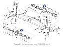 Болт ступицы управляемых колес КЗС-812, фото 4