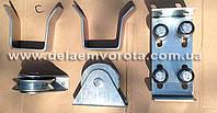 Комплект фурнитуры для откатных ворот на монорельсе №1